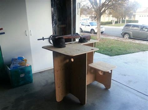 plywood shooting bench 1000 images about shooting on pinterest pistols shooting bench plans and shooting
