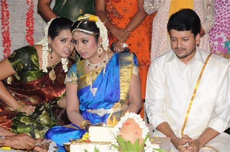 heroine trisha husband photos serial actress santoshi marriage photos collectorsoft