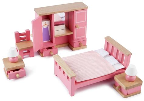 childrens dolls house furniture children s tidlo bedroom wooden doll s house furniture