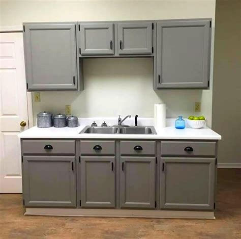 chalk paint grey cabinets painting kitchen cabinets with rustoleum chalk paint
