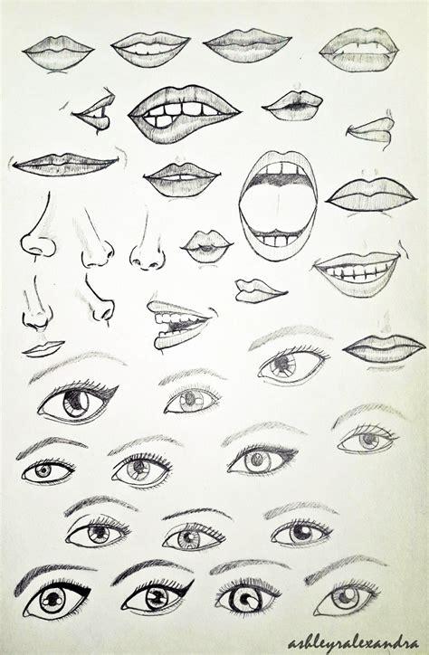 printable eyes mouth eyes noses lips mouths by ashleyralexandra on deviantart