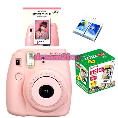 polaroid 300 instant pink fujifilm fuji instax mini 8 pink instant polaroid