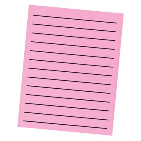 printable writing paper for visually impaired maxiaids bold line paper pad in neon pink with black
