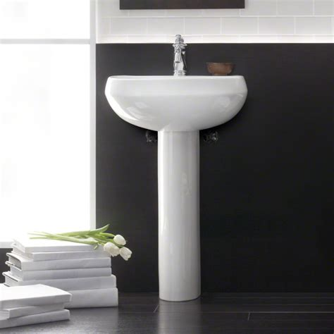 bathroom k kohler k 2293 1 wellworth pedestal bathroom sink with