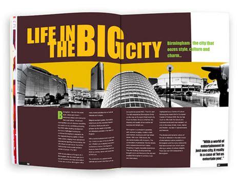 magazine design university course magazine layout cityliving birmingham college brief