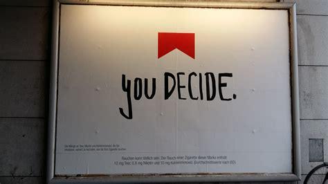 design your own marlboro quot marlboro you decide quot welche schriftart ist das