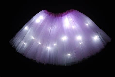 light up tutu child lavender led light up tutu skirt toddler 2 to 8