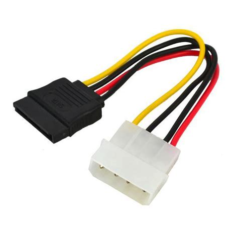 4pin ide molex to ata sata cable for hdd disk