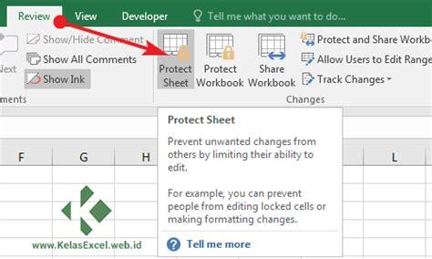format sheet unhide adalah perintah untuk cara memproteksi cell sheet dan workbook atau file excel
