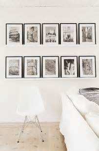 ikea picture ledge picture of gallery wall on ribba ledges