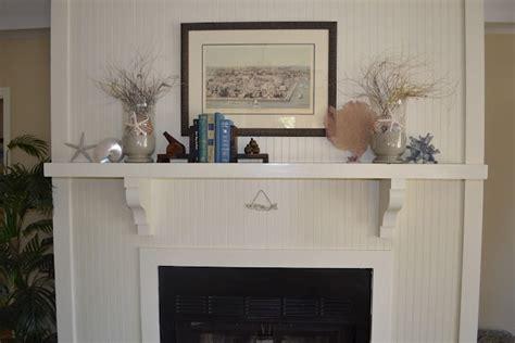 beadboard fireplace surround beadboard and bracket mantel fireplace surrounds