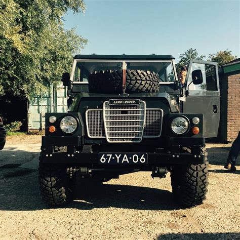 land rover series 3 custom land rover by ian coenen defender wing lightweight