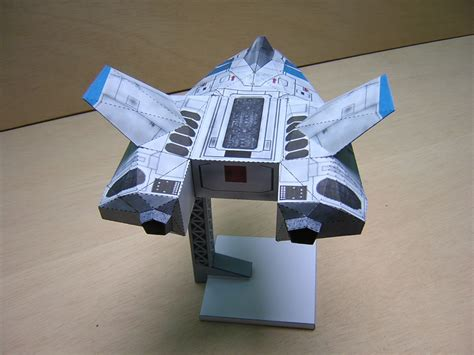 How To Make Paper Wars Ships - new paper model ship in the works wing commander cic