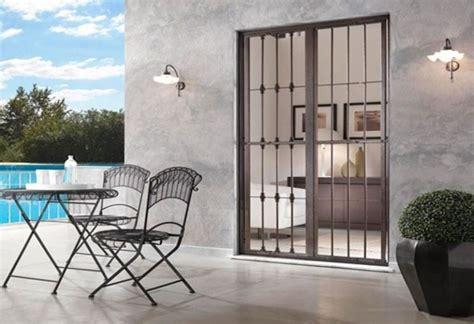 inferriate porta finestra inferriate per finestre presidio di sicurezza consigli