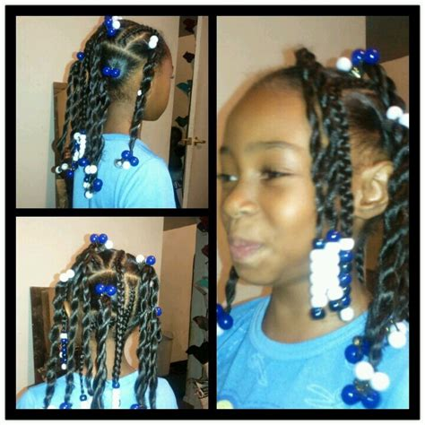 Platts, Beads, Ponytails & Ballies   Hairstyles for little