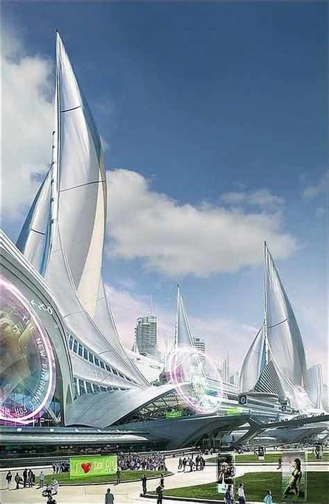 futuristic architecture futuristic architecture concept