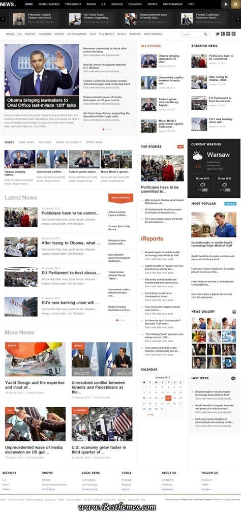 html news themes news wordpress theme heavy content magazine news