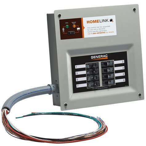 generac 6852 home link upgradeable transfer