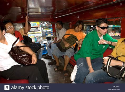 jeepney interior philippines philippines manila jeepney interior stock photo royalty