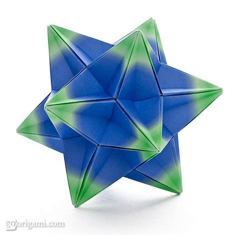 Tomoko Fuse Unit Origami Pdf - kompeito kusudama by tomoko fuse diagram is published in