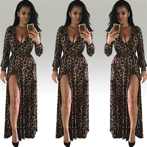 Dress Ori Dina New produs feitong leopard print dress new summer
