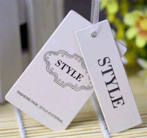 cardboard swing tags aliexpress com buy customized cardboard matte finish