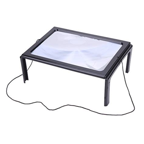 led lighted desk magnifying l magnifier magnifying glass led lighted illuminated