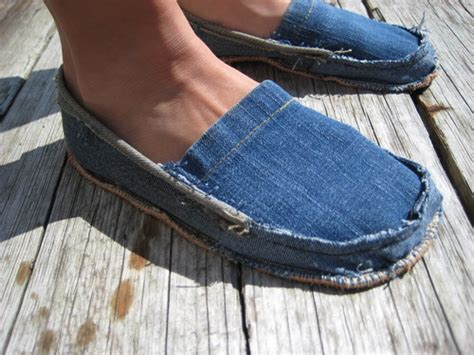 denim slippers preschool crafts for s day recycled