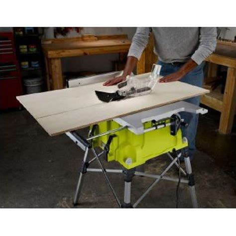 Ryobi 10 Portable Table Saw by Factory Reconditioned Ryobi Zrrts21g 10 In Portable Table
