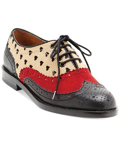 dv oxford shoes dolce vita dv by toledo oxford flats for lyst