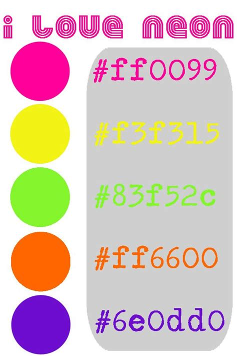 neon blue color code fluorescent or neon colors hex numbers yearbook hex