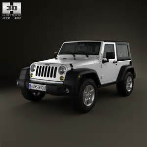 Which Is The Best Jeep Model Jeep Wrangler Rubicon Hardtop 2010 3d Model For