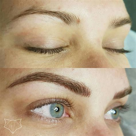 eyebrow tattoo aftercare featherstroke brow microblading cosmetic brow