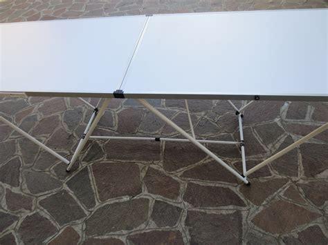 tavoli per mercatini tavolo pieghevole 200 x 60 in alluminio per mercatini