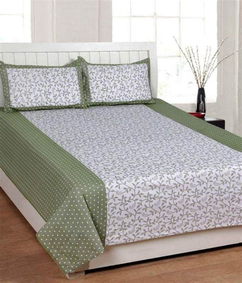 double cot bed decorworld double cotton bed sheet available at snapdeal