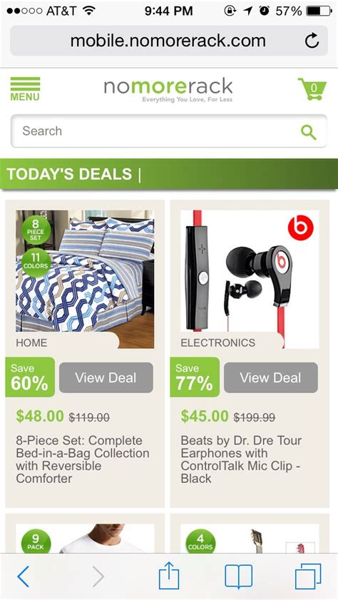 Nomorerack App Best Shopping Site Nomorerack Musely