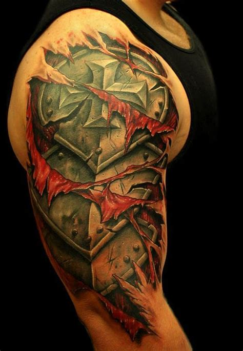 tattoo 3d armor armor tattoos r 252 stung pinterest armors awesome