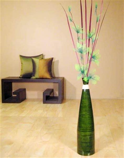 Green Floor Vase Decorative Vases 24 Quot Green Bud Floor Vase