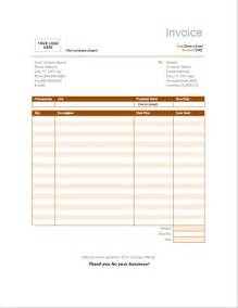 Microsoft Word 2007 Invoice Template by 9 Best Images Of Limo Service Invoice Invoice Template