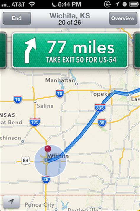 driving directions without map says no plans for ios 6 mapping app yet ars