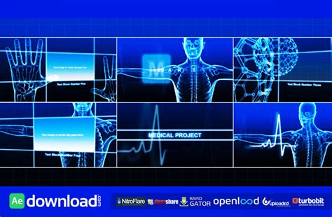 template after effects project free medical project free videohive template free after