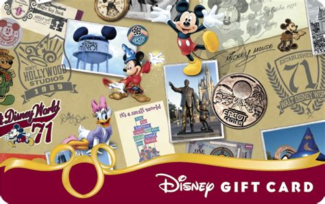 Disney Resort Gift Cards - 40th anniversary disney gift cards disney parks blog