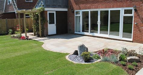garden patios escapes landscaping fareham