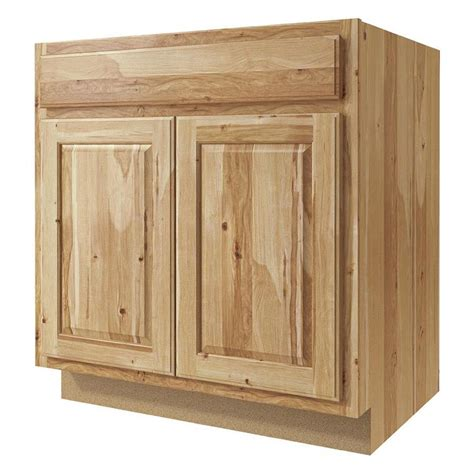 denver hickory cabinets lowes shop now denver 33 in w x 35 in h x 23 75 in d