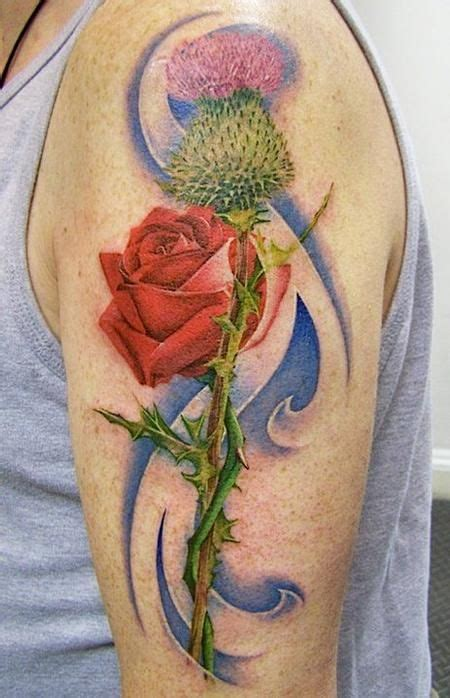 scottish rose tattoo 17 best images about scottish tattoos on