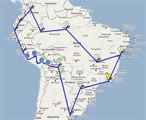 itinerary south america mr mrs a of our
