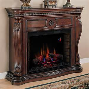 Large Electric Fireplace Cherry Finishes
