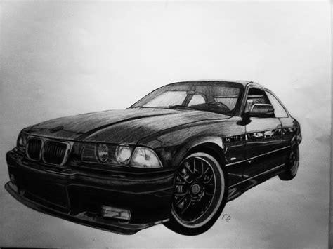 bmw car drawing bmw car pencil drawing by edgarsart on deviantart