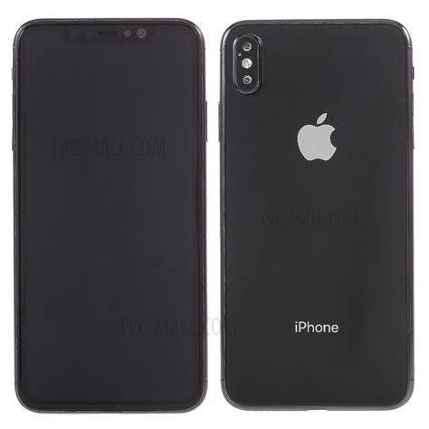 1 1 scale black screen non working display dummy phone for iphone xs max 6 5 inch black tvc