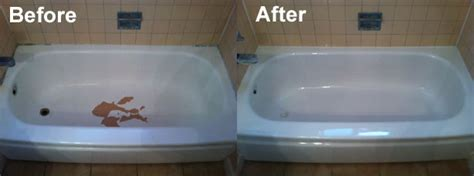 bathtub repair fix chips with reglazing